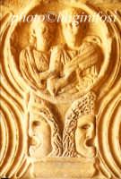 museo archeologico di Agrigento - particolare di  lastra tombale  - Agrigento (2262 clic)