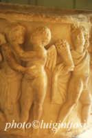 museo archeologico di Agrigento - particolare di  lastra tombale  - Agrigento (2222 clic)