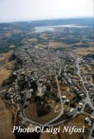 veduta aerea di sambuca e lago arancio  - Sambuca di sicilia (12865 clic)