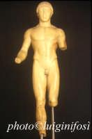 museo archeologico di Agrigento - l'efebo  - Agrigento (2561 clic)