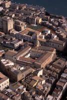veduta aerea di sciacca, in evidenza la basilica  - Sciacca (3333 clic)