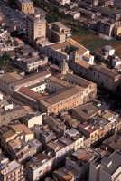 veduta aerea di sciacca, in evidenza la basilica  - Sciacca (4131 clic)