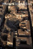 veduta aerea dell'anfiteatro romano  - Catania (6701 clic)