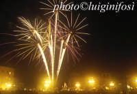 spettacolo pirotecnico e Santa Lucia  - Siracusa (4998 clic)