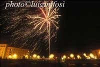 spettacolo pirotecnico e Santa Lucia  - Siracusa (5641 clic)