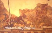 Palazzo Naselli - affresco del loggiato   - Aragona (3126 clic)