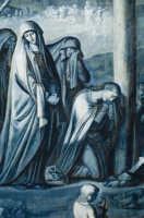 la taledda - arazzo esposto solo nel periodo pasquale - del duomo di san giorgio a ragusa  - Ragusa (2344 clic)