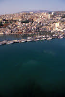 veduta aerea del porto  - Sciacca (2668 clic)