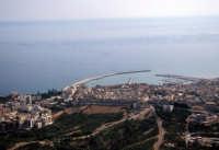 veduta aerea della città e del porto  - Sciacca (2783 clic)