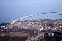 veduta aerea della città e del porto  - Sciacca (3001 clic)
