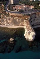 panorama aereo delle terme e la coda di volpe   - Sciacca (8771 clic)