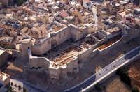 panorama aereo del castello   - Sciacca (4723 clic)