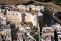 veduta aerea del castello  - Sciacca (4125 clic)