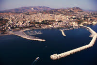 veduta aerea del porto  - Sciacca (4501 clic)