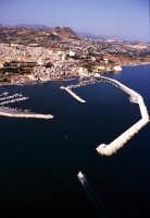 veduta aerea del porto  - Sciacca (3926 clic)