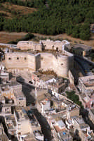veduta aerea del castello  - Sciacca (4396 clic)