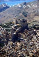 veduta aerea della città e del castello  - Caccamo (4674 clic)
