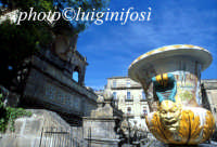 l'ingresso del museo della ceramica CALTAGIRONE Luigi Nifosì