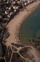veduta aerea della spiaggia  - Porto empedocle (9675 clic)