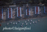 veduta aerea degli stabilimenti balneari di mondello  - Palermo (3931 clic)
