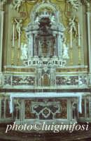 chiesa san matteo e ignazio - altare in marmi mischi della vecchia chiesa di s.m. la piazza  - Scicli (5148 clic)