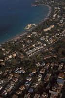 veduta aerea della spiaggia di mondello  - Palermo (3110 clic)