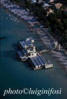 veduta aerea della spiaggia di mondello  - Palermo (4185 clic)