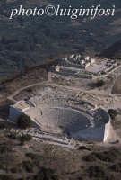 veduta aerea del teatro   - Segesta (8926 clic)