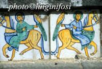 decorazioni in ceramica nei gradini della scalinata  - Caltagirone (2616 clic)