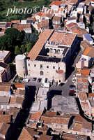 il castello di roccavaldina in una veduta aerea  - Roccavaldina (7978 clic)
