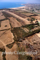 veduta aerea dell'area archeologica e della baia di Scoglitti  - Camarina (4583 clic)