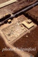 veduta aerea dell'area archeologica    - Camarina (4565 clic)