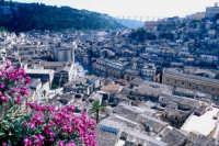 paesaggio urbano - vista dalla torre dell'orologio MODICA Luigi Nifosì