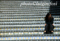 la scalinata CALTAGIRONE Luigi Nifosì