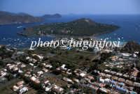 veduta aerea della penisola con vulcanello  - Vulcano (4427 clic)
