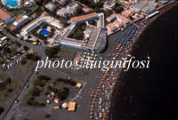 veduta aerea della spiaggia di sabbie nere  - Vulcano (6827 clic)