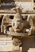 particolare della chiesa di san sebastiano  - Ferla (1365 clic)
