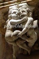 mensole di palazzo la rocca  - Ragusa (4462 clic)