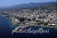 panorama aereo e attracco traghetti  - Messina (8655 clic)