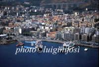 panorama aereo e attracco traghetti  - Messina (7521 clic)
