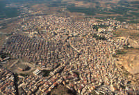 vista aerea del centro urbano PALAGONIA Luigi Nifosì