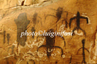 grafiti apotropaici nella grotta del genovese  - Levanzo (7537 clic)