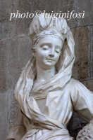 particolare di stucco serpottiano presso la chiesa di san francesco PALERMO Luigi Nifosì
