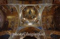 la volta a mosaici della martorana PALERMO Luigi Nifosì