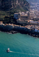 il mare di cefalù visto dall'alto  - Cefalù (4670 clic)