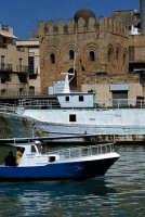 San Nicolò Regale visto dal porto canale  - Mazara del vallo (2099 clic)