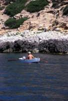 un tratto della costa  - Levanzo (1961 clic)