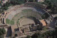 vista aerea del teatro greco romano  - Taormina (5632 clic)