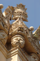 i mascheroni di palazzo impellizzeri a ortigia  - Siracusa (2350 clic)