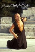 rappresentazioni classiche al teatro greco - 2002 le baccanti  - Siracusa (2272 clic)